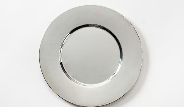 Base Plate Silver