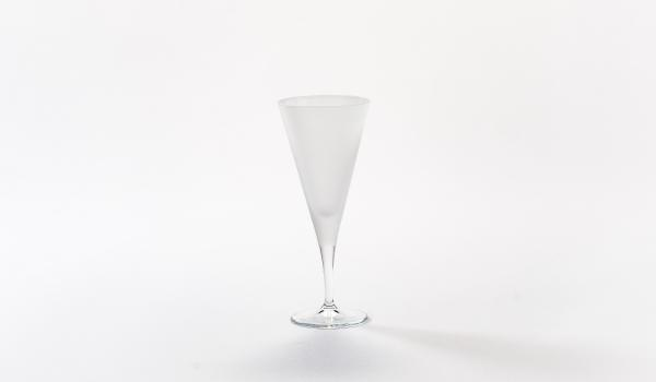 Water Glass Frosted Tribeca